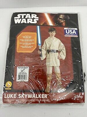 Luke Skywalker Halloween Costume Child (Star Wars Luke Skywalker Child Light Saber Halloween Kids Costume)