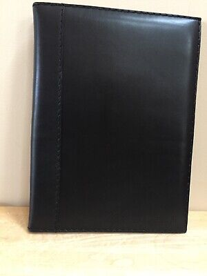 A4 Business Leather Portfolio Notebook Schering-Plough Company Logo