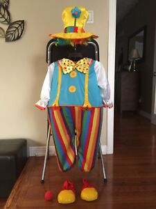 Brand New Toddler Clown Costume - Size 4T