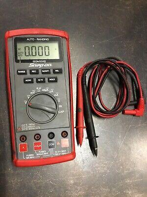 Snap-on Eedm504d Auto-range Digital Multimeter