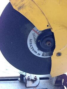"14"" inch Walter chopsaw blades with saw $30"