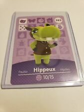 Authentic Hippeux 383 Animal Crossing Amiibo US Card ...