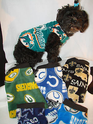 NFL TEAM Size XSMALL Dog Fleece shirt, vest more styles &sizes in my e-bay store](Nfl Team Stores)