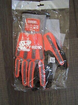 New Magid Trex Impact Gloves Ansi Cut Level A4 Anti-slip Palm Xl