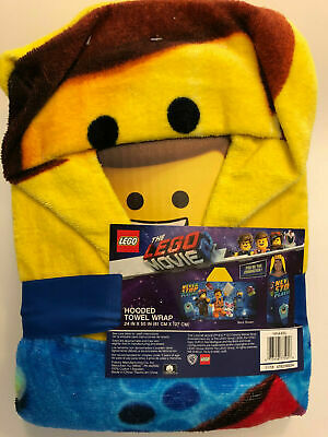"The Lego Movie 2 Mini Figures Towel Hooded 24""x 50"" Christmas Gift HH446L"
