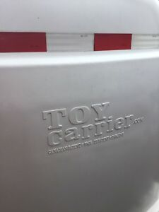 Toy Carrier trailer, enclosed motorcycle trailer.