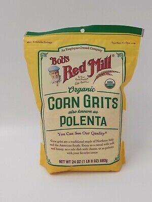 Bob's Red Mill Organic Corn Grits Polenta 24oz 680g