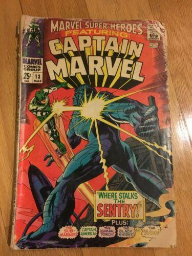 Marvel Superheroes 13 1st app Carol Danvers