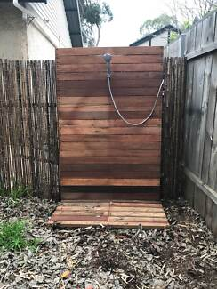 outside shower complete