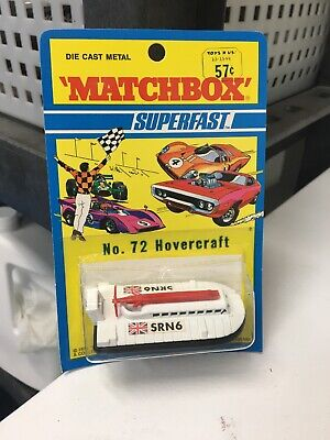 Matchbox Superfast #72 HOVERCRAFT SRN6 sealed