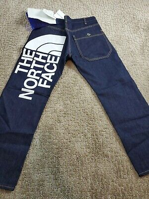 The North Face Junya Watanabe Man Jeans Size XS Logo Mens Comme Garcon $483