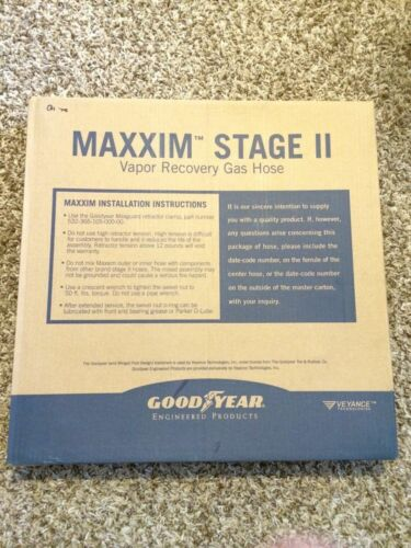 Goodyear 8' Maxxim Premier Plus coaxial balance hose W/Venturi