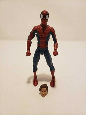 Marvel Legends Ultimate Spider-Man Peter Parker Space Venom BAF Series