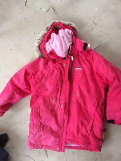 European ski jacket