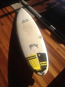 Like new. 6'2 37.6 litre lost mayhem mini driver The Gap Brisbane North West Preview