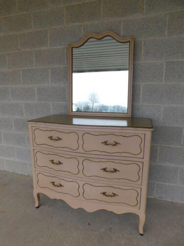 Drexel Parisienne Collection French Louis XV Style Dresser & Mirror