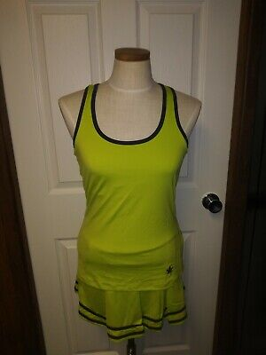 - Boast Lime Green Tennis Outfit 2 Piece