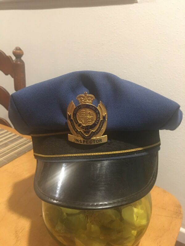 1950s -60s Railroad Hat And Badge !