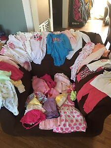 Baby Girl clothing lot sold PPU