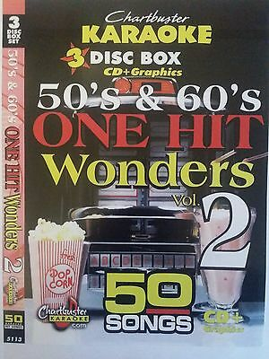 3 Disc Set 50 Tracks New Chartbuster Karaoke Cdg Elvis Hits 5029r