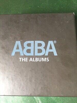 ABBA - THE ALBUM COLLECTION CDs (All 8 studio albums plus a bonus CD & booklet)
