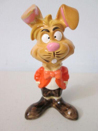 Disney Alice In Wonderland Thackery Earwicket March Hare Ceramic Figure Japan