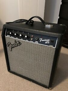 Fender bass amp 15 W