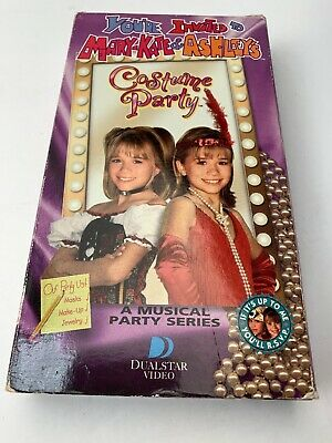 You're Invited To Mary-Kate & Ashley's - Costume Party - VHS Tape VCR Tape - Vhs Tape Costume