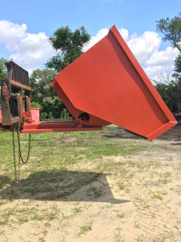 Self Dumping Hopper, 5 Yard, Heavy Duty, 6000 Lbs Capacity
