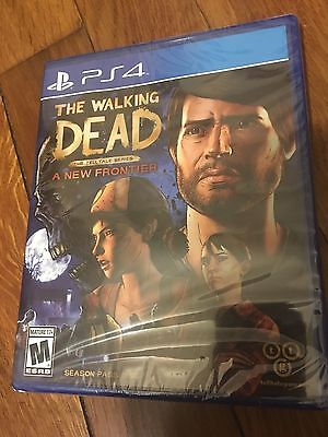 Walking Dead:  A New Frontier: Season Pass Disc (Sony PlayStation 4, 2017) New