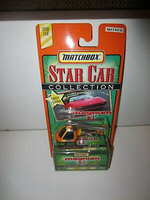 Matchbox MAGNUM PI HELICOPTER   NEW IN PACKAGE