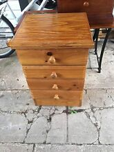 Bedside table 4 shelves St Marys Penrith Area Preview