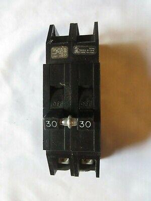 Circuit Breaker Challenger 30 Amp 2 Pole Type Qc K 120240v Tested