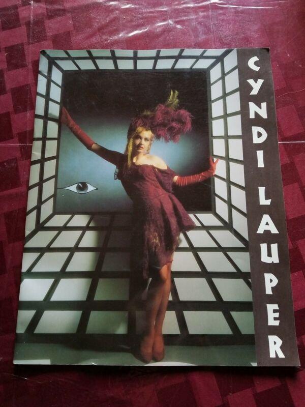 CYNDI LAUPER TRUE COLORS TOUR PROGRAM 1986-87