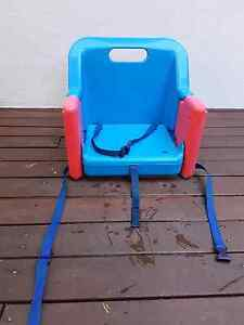 Baby feeding booster chair (attaches to dining chair) Montmorency Banyule Area Preview