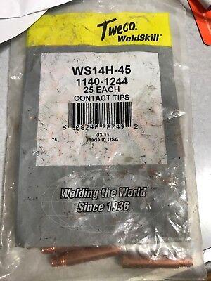 Tweco Weldskill Ws 14h-45 1140-2444 25 Piecesbag