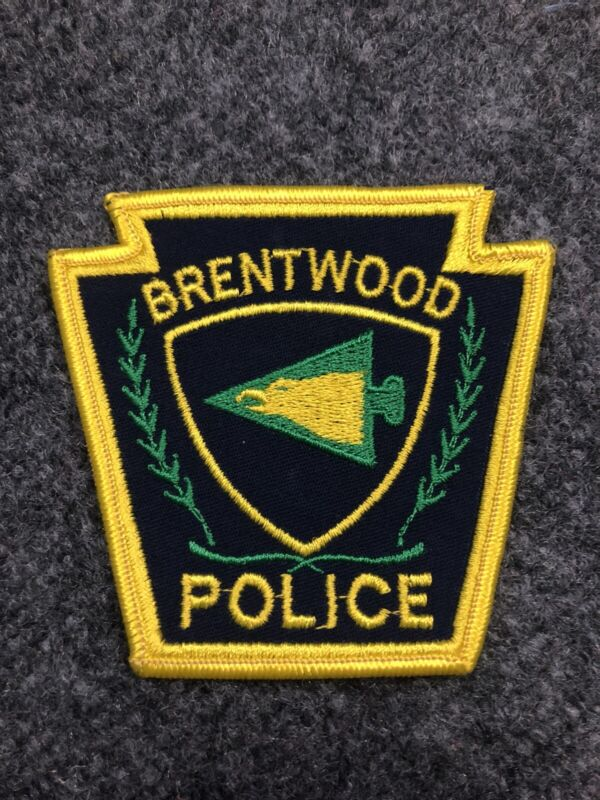 Brentwood Police Pennsylvania PD patch