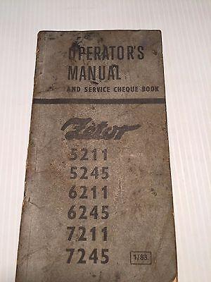 Agrozet Zetor Tractor 5211 5245 6211 6245 7211 7245 Operators Manual