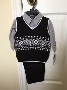 Brand new with tags Baby and Toddler boys 3 piece outfits