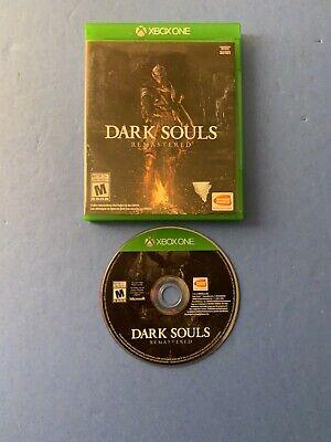 Dark Souls : Remastered (Microsoft Xbox One, 2018) US/Canada