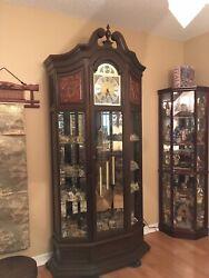 German Curio Grandfather Clock