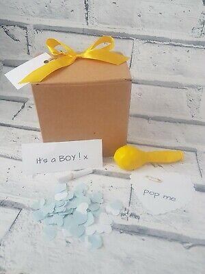 It's a boy, gender reveal, pop the balloon, surprise, pop - Balloon Pop Gender Reveal