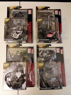 Transformers PACKAGING Lot of 4 Wheeljack, Hound, Trailbreaker, & Smokescreen