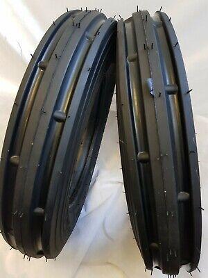 2 Tires Tubes 5.00x15 5.00-15 Road Crew St1 John Deere Tractor Tires 6 Pr