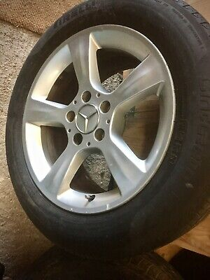Alloy Wheels / Used Tyres Mercedes 225/55 16