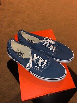 Vans Authentic Era Navy Blue Size 10.5