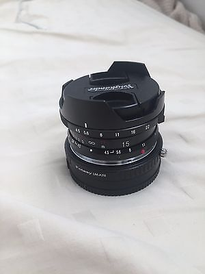 VOIGTLANDER Super Wide Heliar 15mm f/4.5 ASPH II Leica Mount