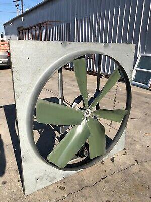 Industrial Warehouse Wall Exhaust Fan Belt 48 1 Hp Explosion Proof 115v 230v
