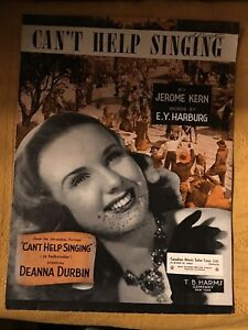 Jerome Kern - Can't Help Singing (Starring Deanna Durban)