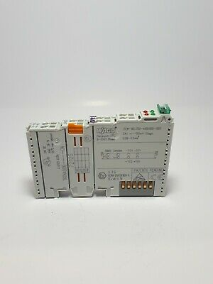 Wago 750-469-000-003 2 Channel Analog Input Thermocouple Module - 120mv Used